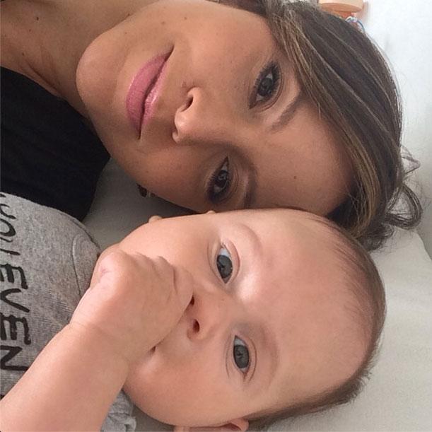 Satcha Pretto, Bruce, bebes en instagram