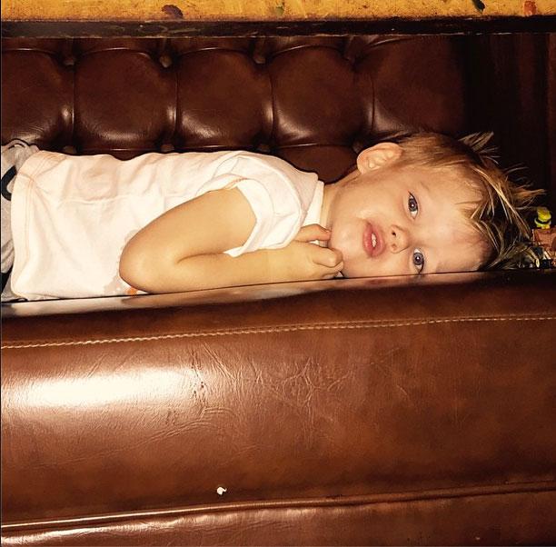 Hilary Duff, Bebes en instagram
