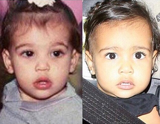 Kim Kardashian y North West para articulo