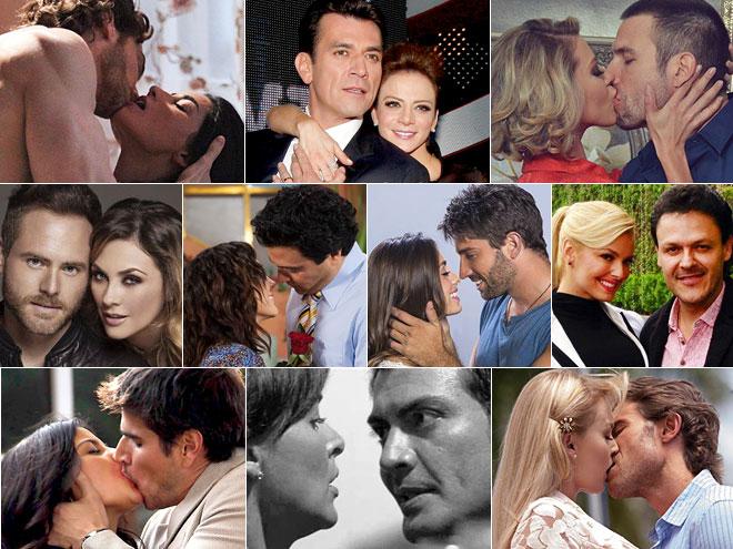 Estrellas del año, telenovelas, mejor pareja