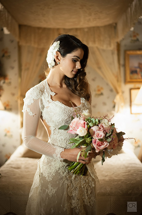 Vanessa De Roide, boda