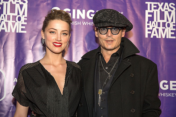 JOHNNY DEEP Y AMBER HEARD