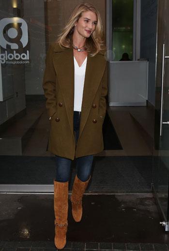 El look del día, Rosie Huntington-Whiteley