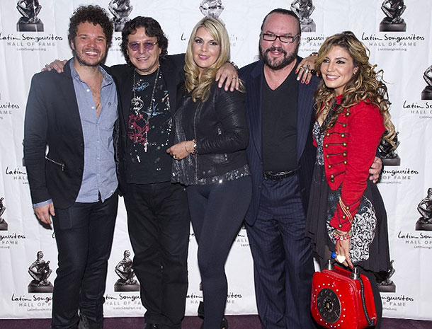 Andrés Cabas, Rudy Pérez, Isa Souza, Desmond Child, Lena Burke, Míralos