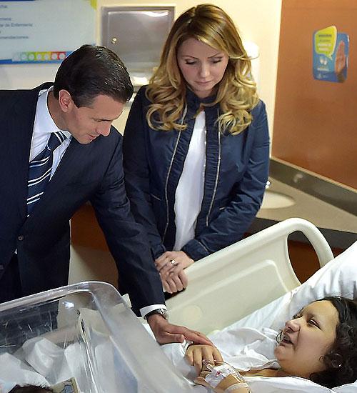 Enrique Peña Nieto, Angélica Rivera, Míralos