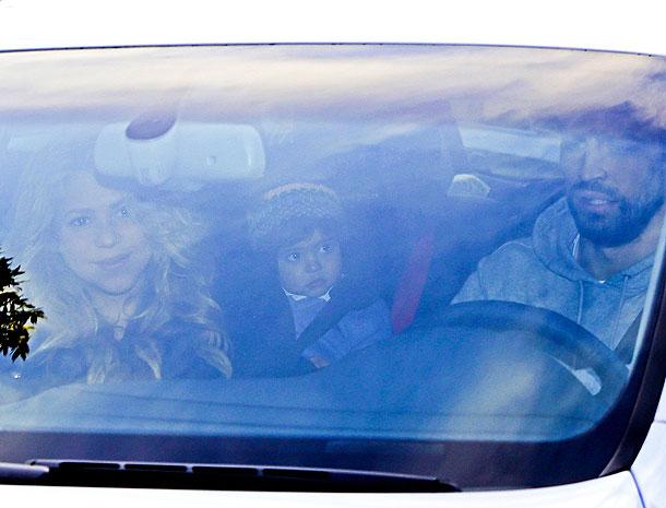 Shakira, Gerard Piqué, Milan, Míralos