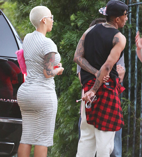 Nick Cannon, Amber Rose, Míralos