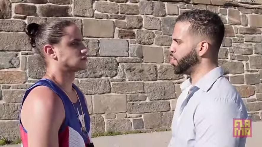 puertorriqueño, dominicano, comedia, batalla