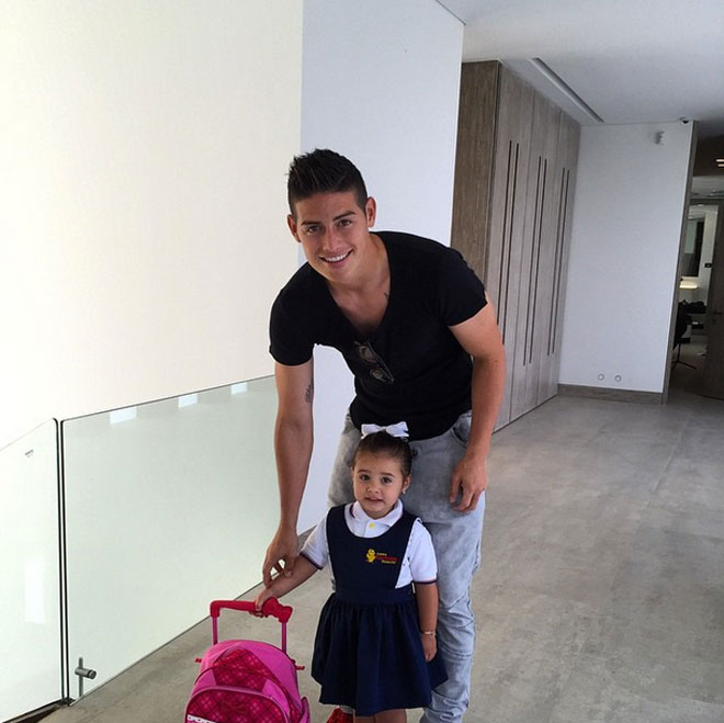 JAMES RODRÍGUEZ, Salomé
