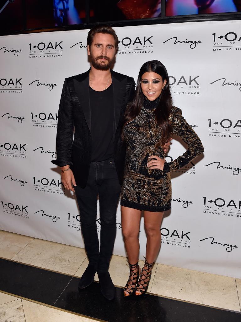 Scott Disick, Kourtney Kardashian