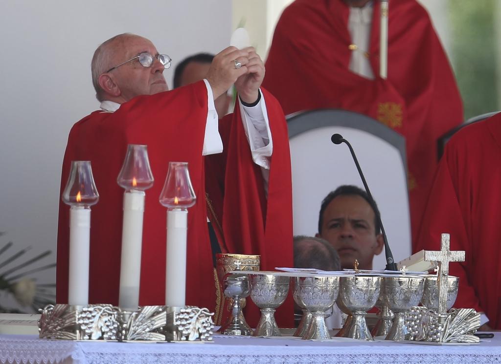 Papa Francisco en Holguin