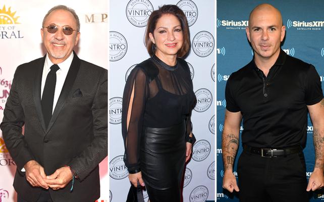 Emilio Estefan, Gloria Estefan, Pitbull