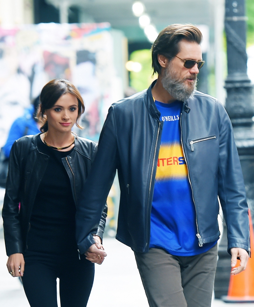 Cathriona White y Jim Carrey