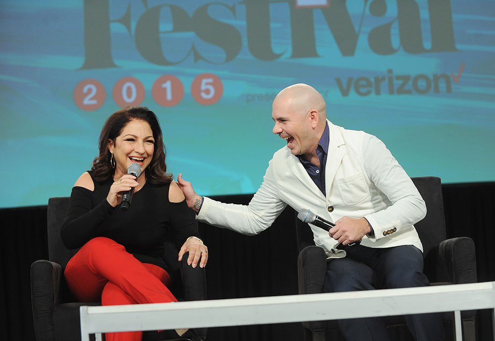 Pitbull, Gloria Estefan