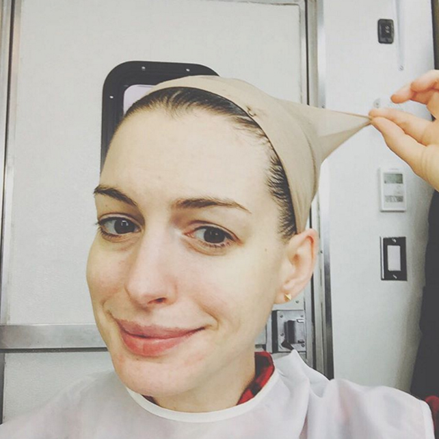 Instagram, Anne Hathaway
