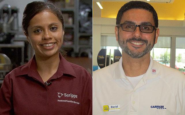 Fortune's 50 Best Workplaces for Diversity, Great Places to Work, 10 mejores lugares de trabajo para latinos, CarMax, Scripps Healt, Ana Calderón, David Marrero