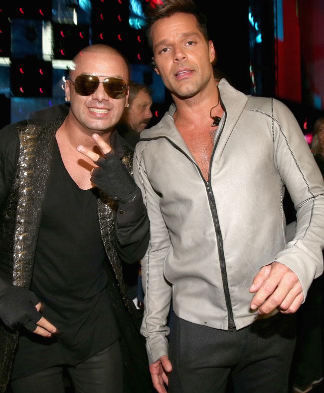 Ricky Martin y Wisin