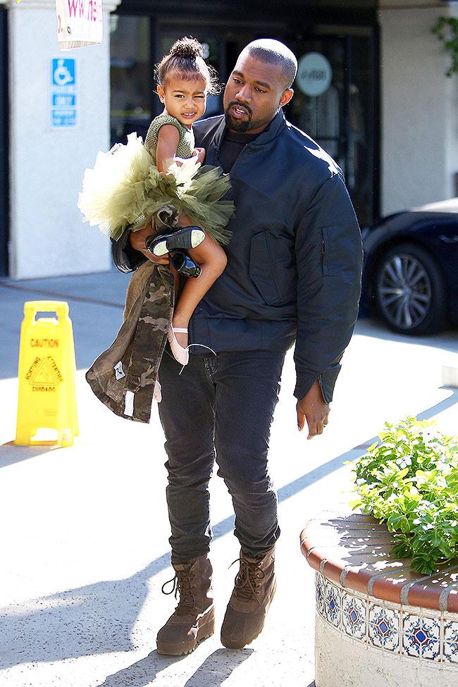 Kanye West, North West, Míralos