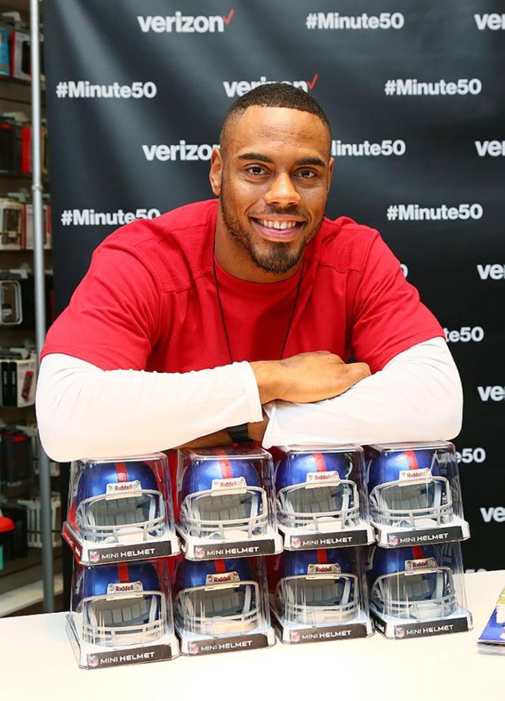 Rashad Jennings, SuperBowl 50, Verizon