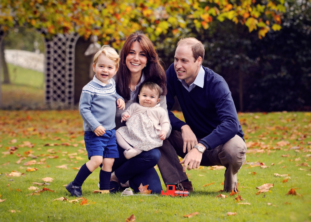 Príncipe William, Princesa Kate, Princesa Charlotte, Príncipe George