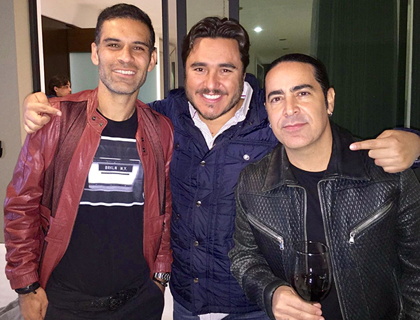 Rafa Marquez, Alex González