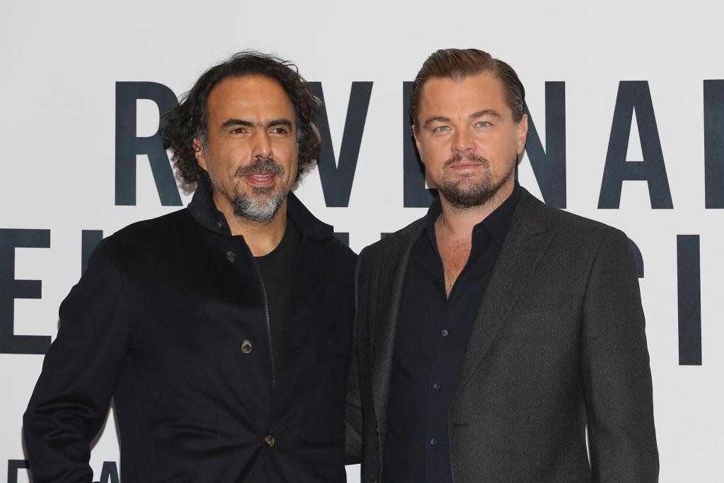 Alejandro Gonzalez Iñárritu y Leonardo DiCaprio