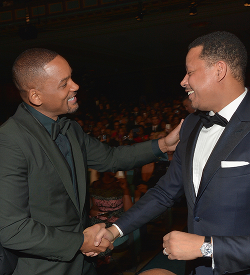Will Smith y Terrence Howard