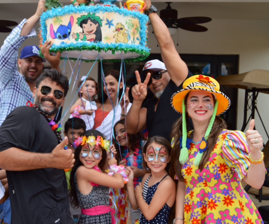 Cumpleaños de la hija de Jorge Luis Pila, Sabrina Pila