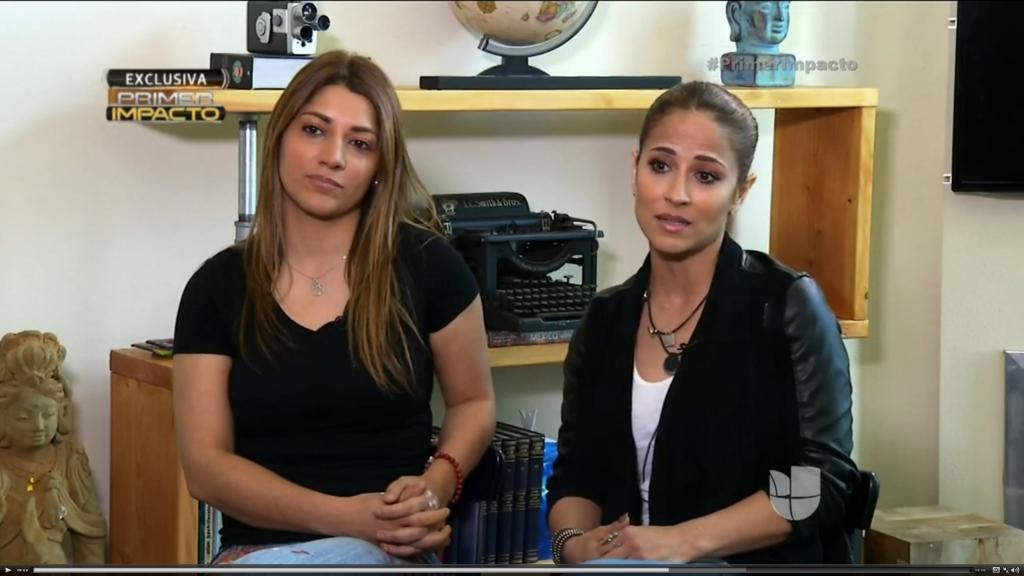 Jackie Guerrido y su hija Adieny Núñez