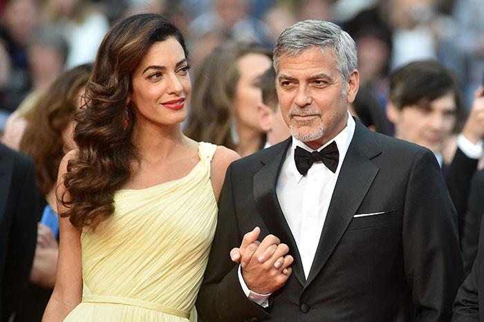 Amal, George Clooney,