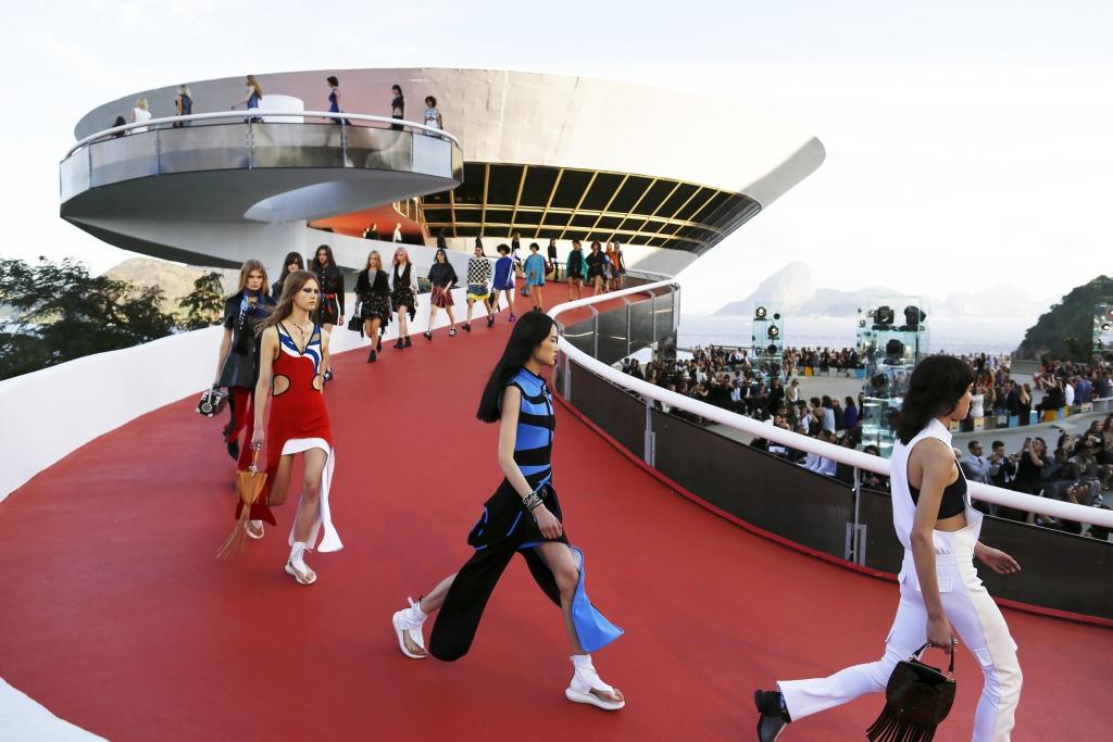 Desfile de Louis Vuitton