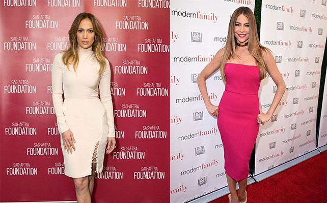 Sofia Vergara and Jennifer Lopez