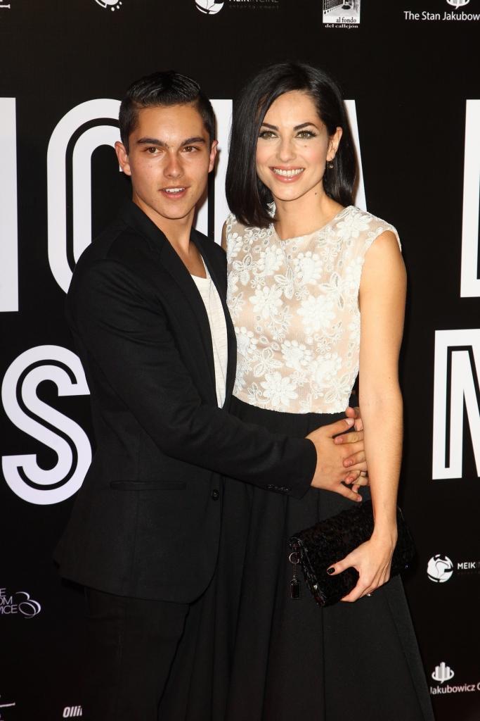 Sergio Mayer Jr y Barbara Mori