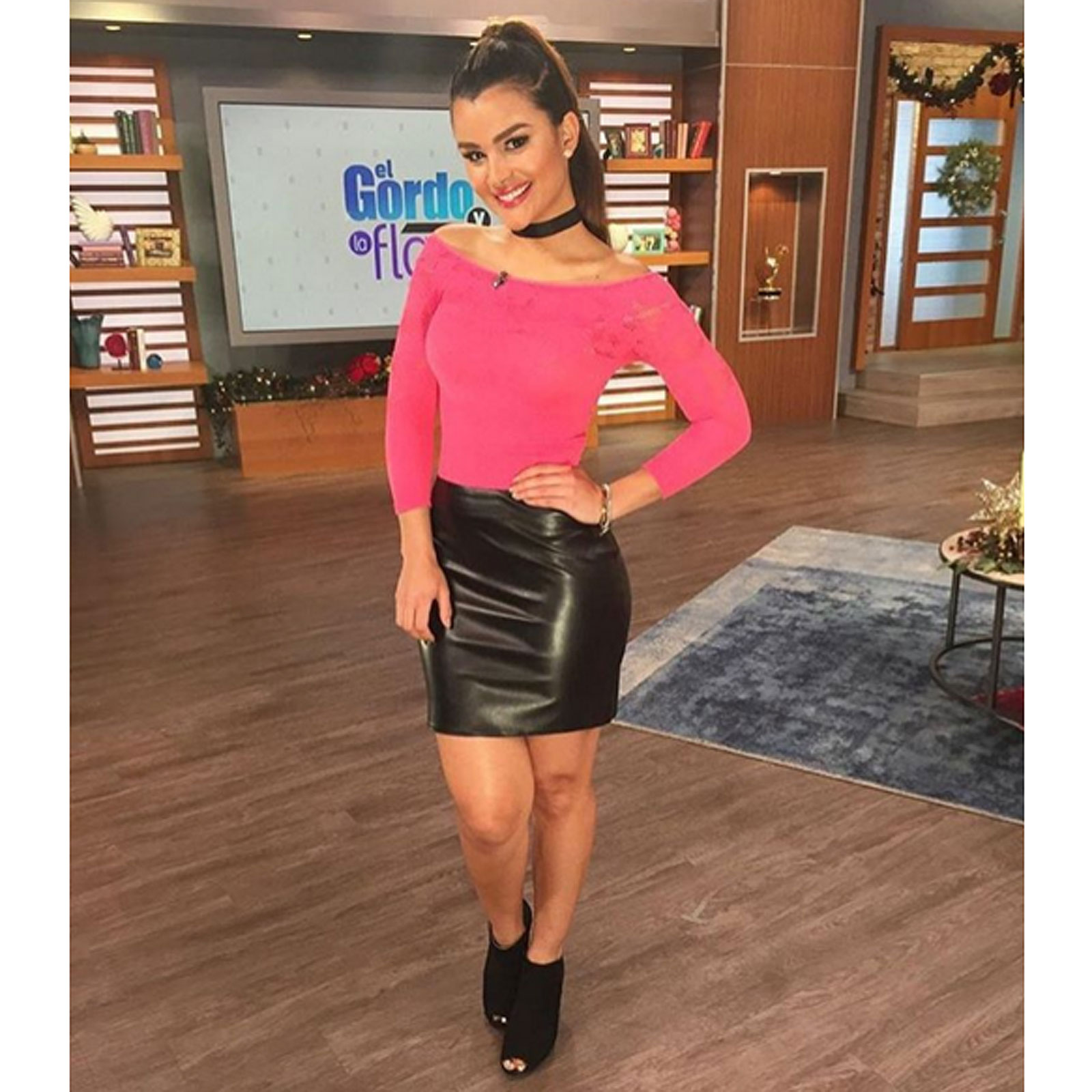 Clarissa Molina, el look del día