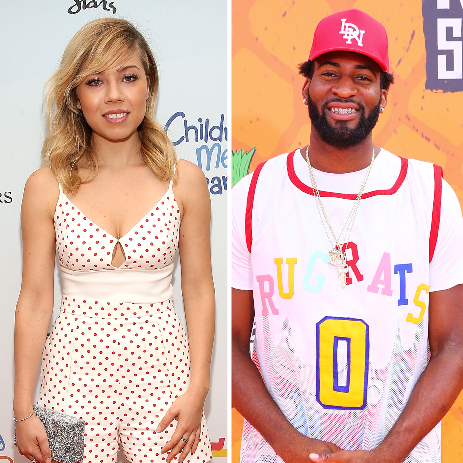 Jennette McCurdy y Andre Drummond