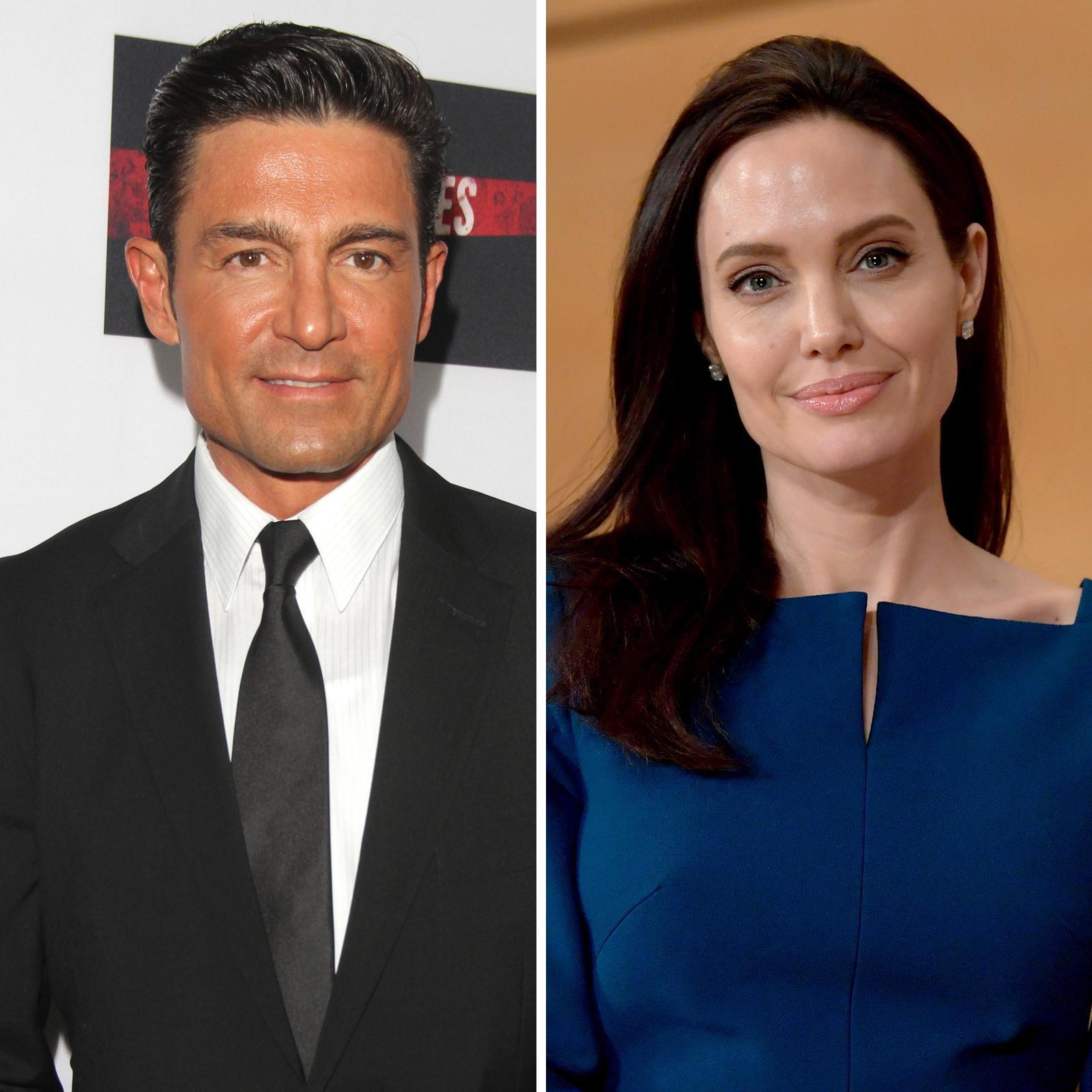 Fernando Colunga y Angelina Jolie