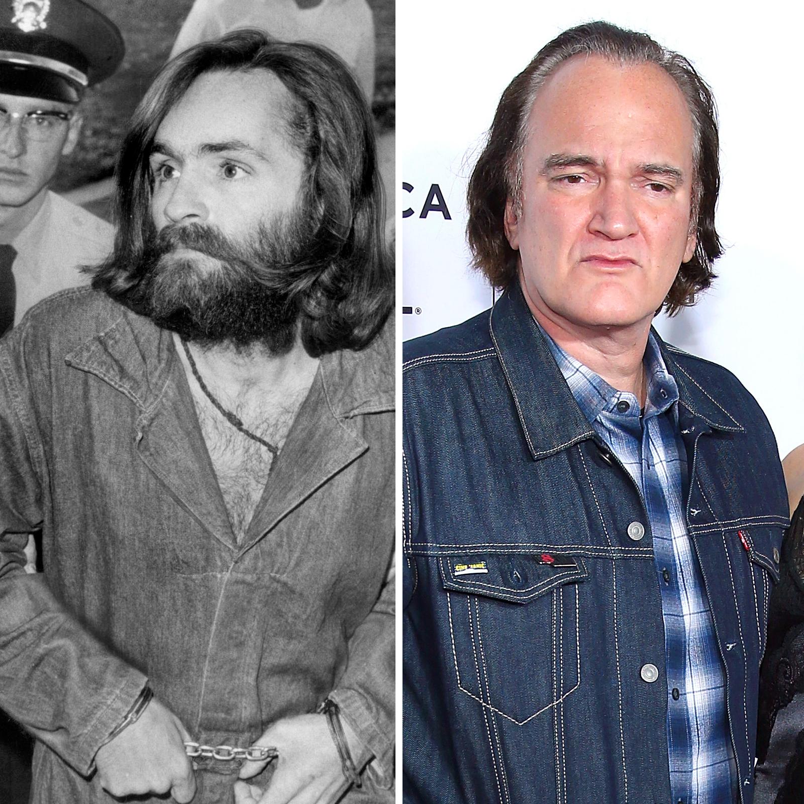 Charles Manson y Quentin Tarantino