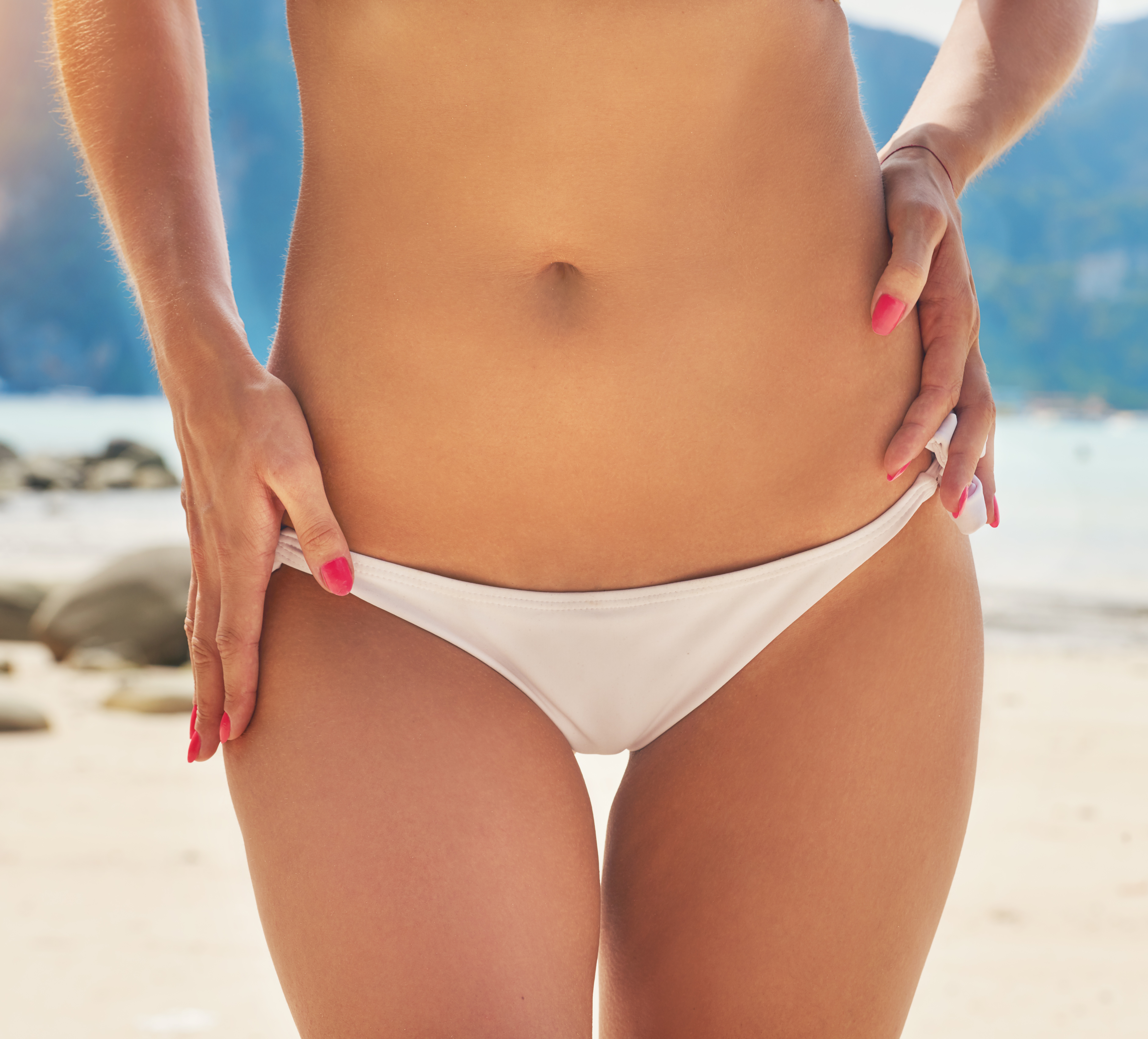bikini area Depilar el del