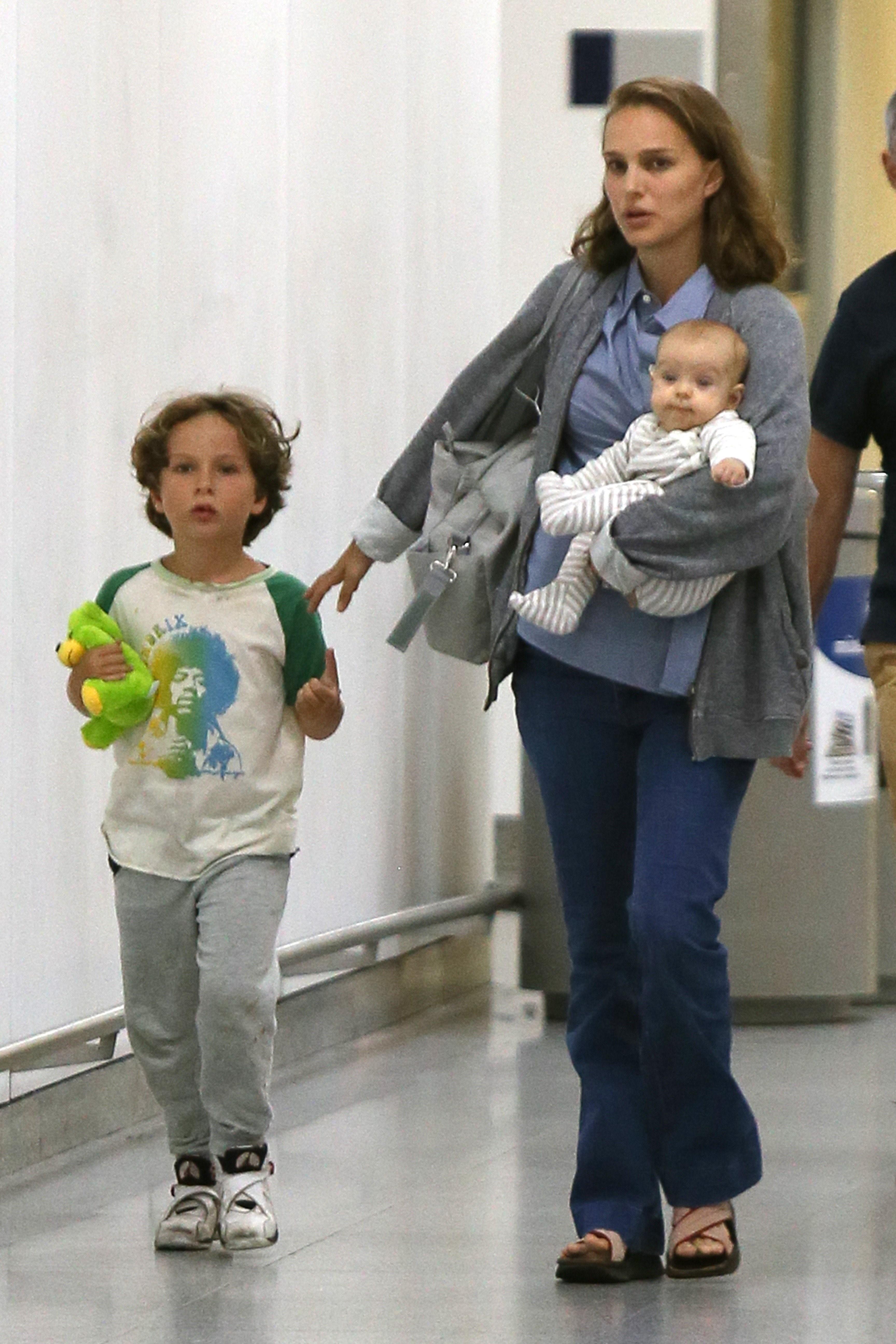 Natalie Portman e hijos