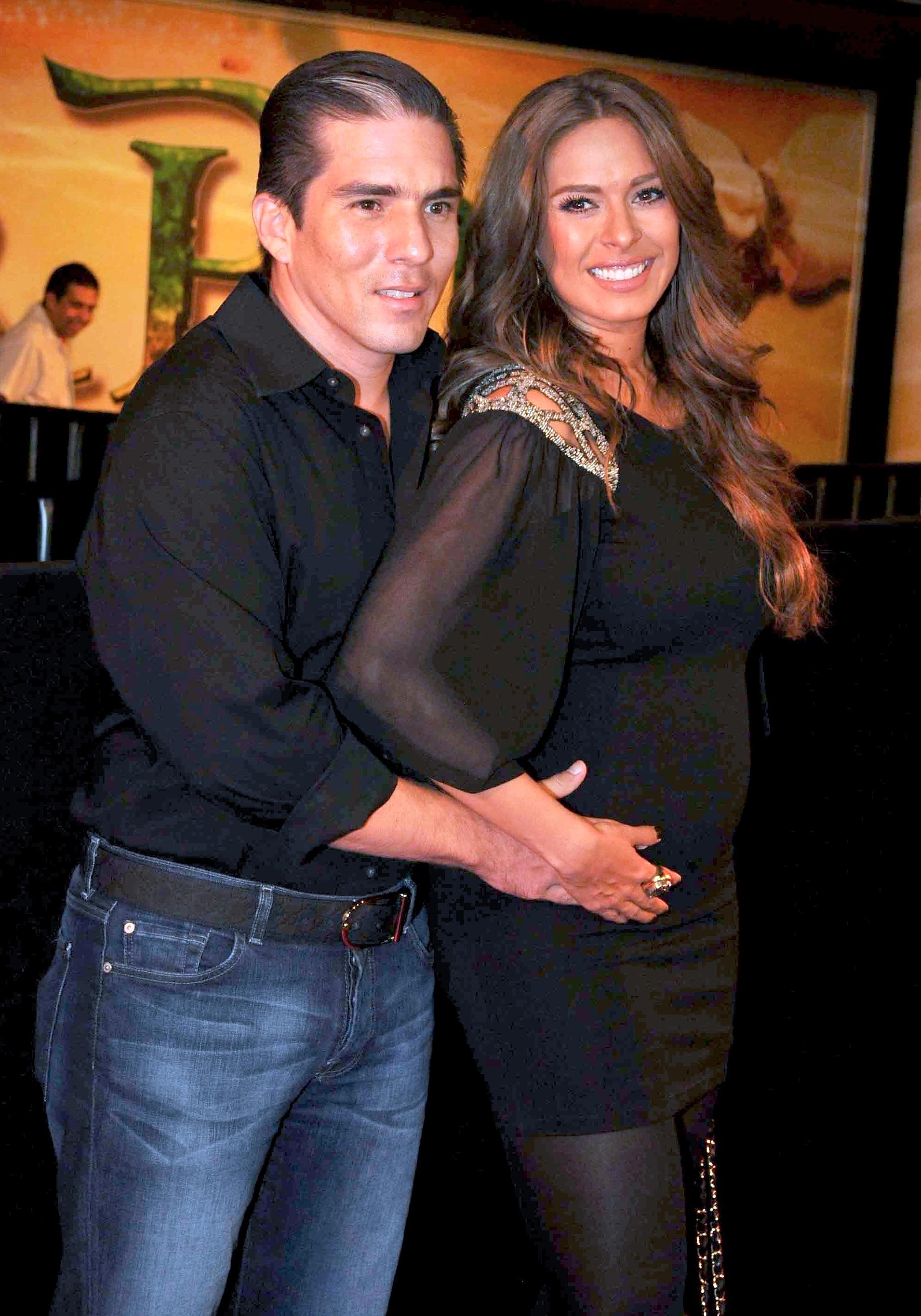 Fernando Reina and Galilea Montijo