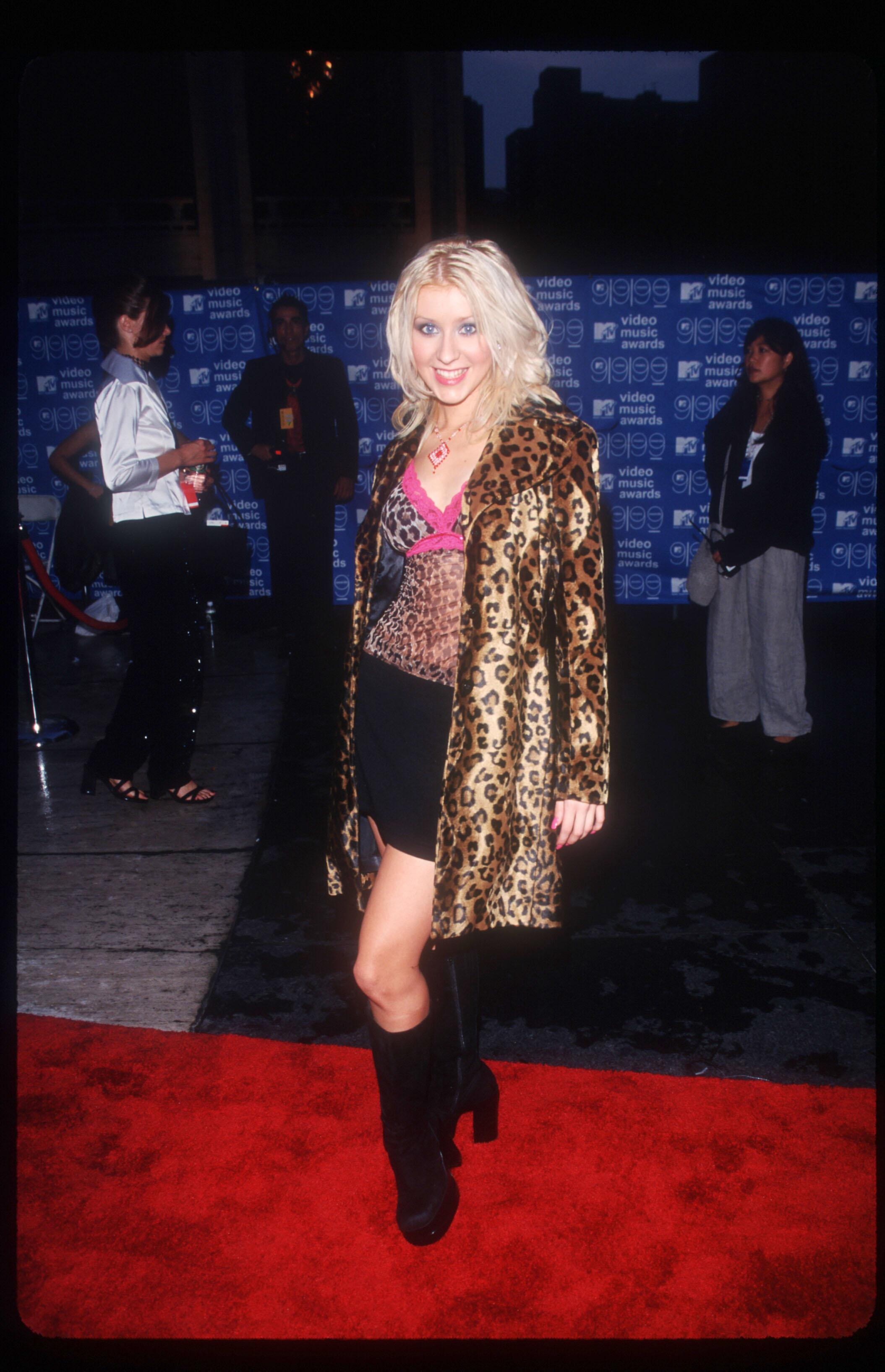 Christina Aguilera At MTV Music Awards
