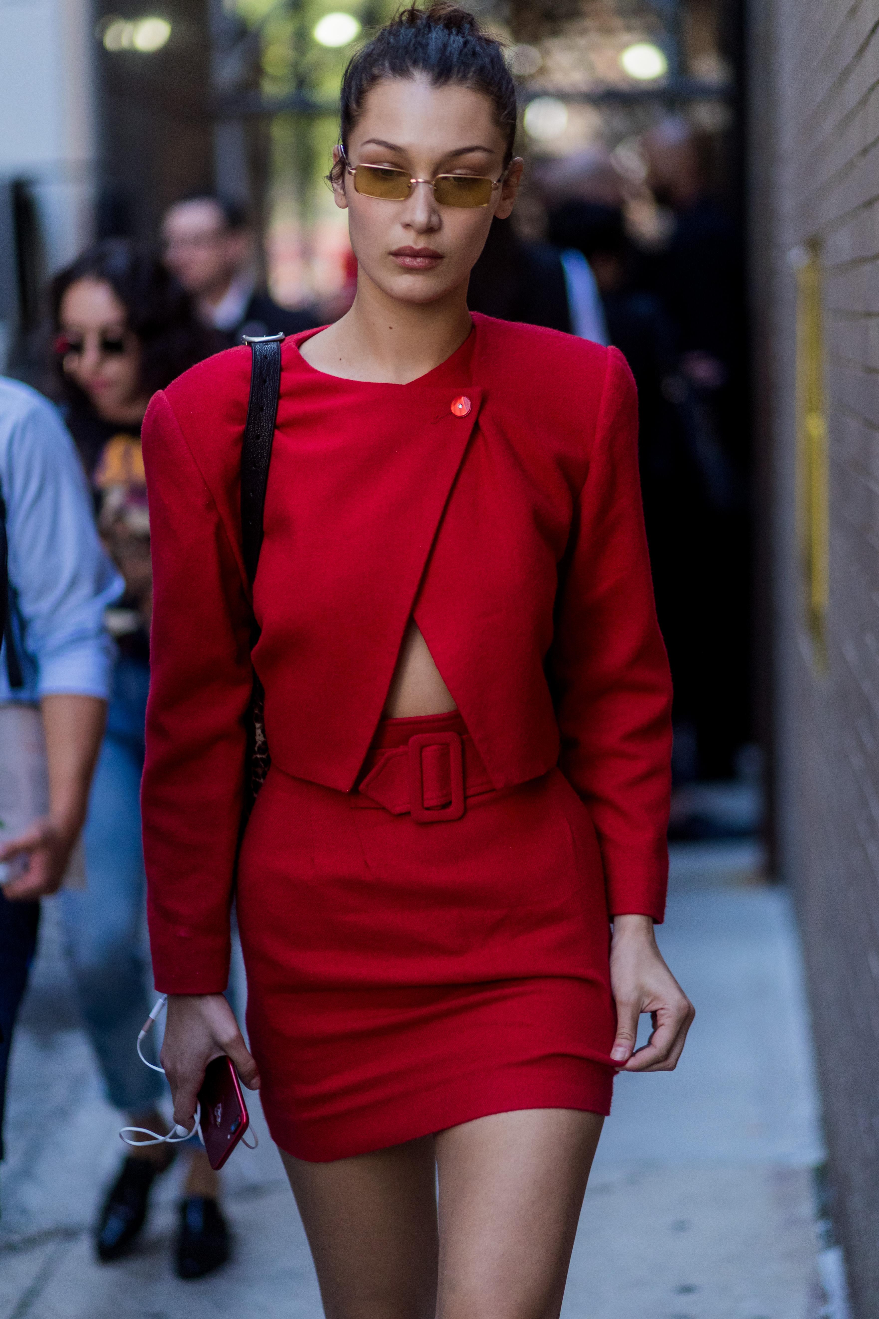 rojo, red, estilo, look, famosas, tendencia
