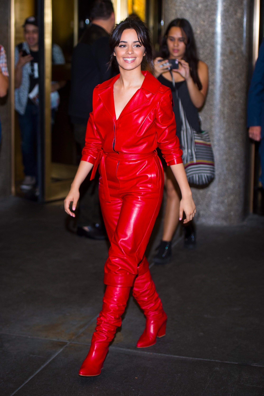 famosas, rojo, look, estilo,