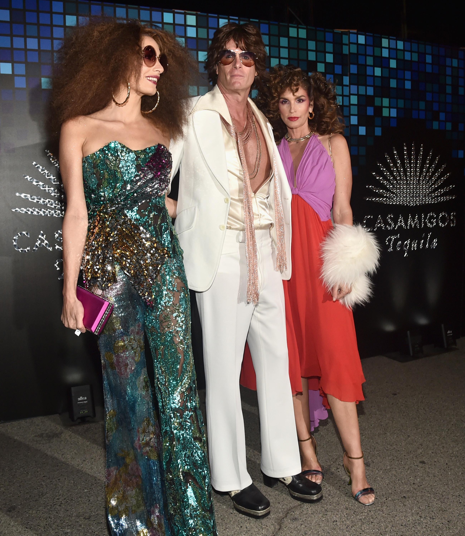 Amal Clooney, Rande Gerber y Cindy Crawford