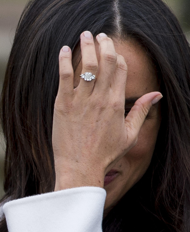 Meghan Markle, anillo compromiso