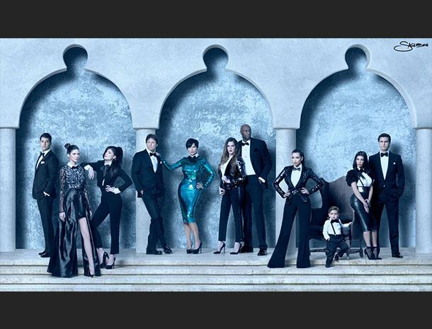 Rob Kardashian, Kris Jenner, Khloe Kardashian, Kylie Jenner, Kendall Jenner, Kim Kardashian, Bruce Jenner, Kourtney Kardashian, Scott Disick