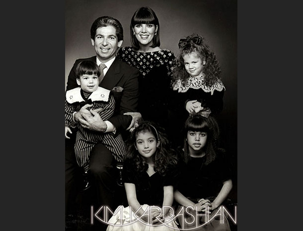 Rob Kardashian, Kris Jenner, Khloe Kardashian, Kim Kardashian, Bruce Jenner, Kourtney Kardashian