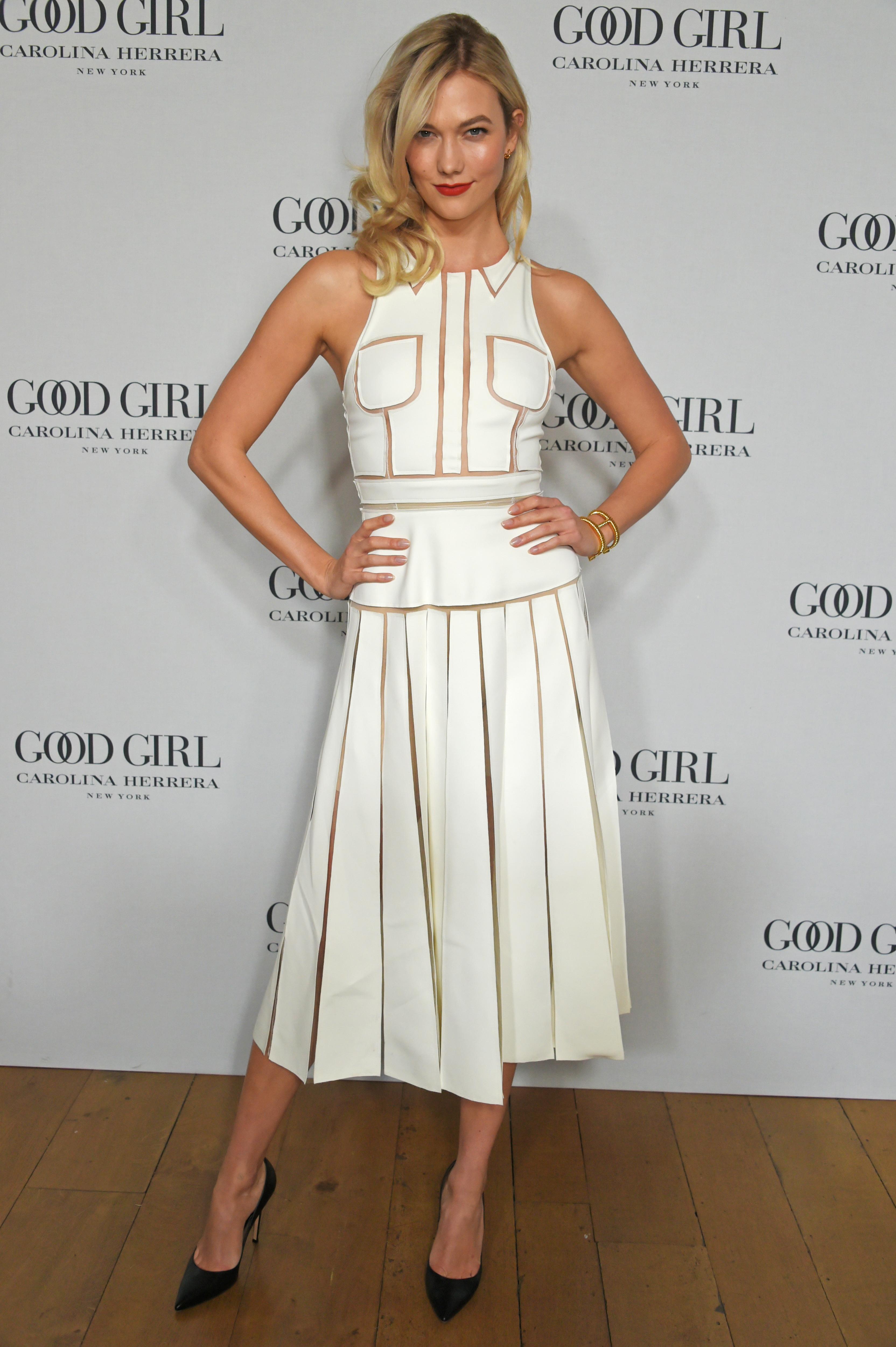 "Carolina Herrera Launches New Fragrance ""Good Girl"" With Karlie Kloss In London"