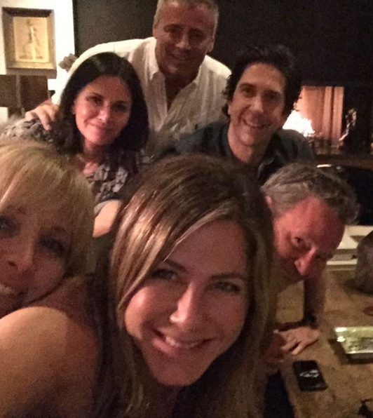 Jennifer Aniston debut instagram