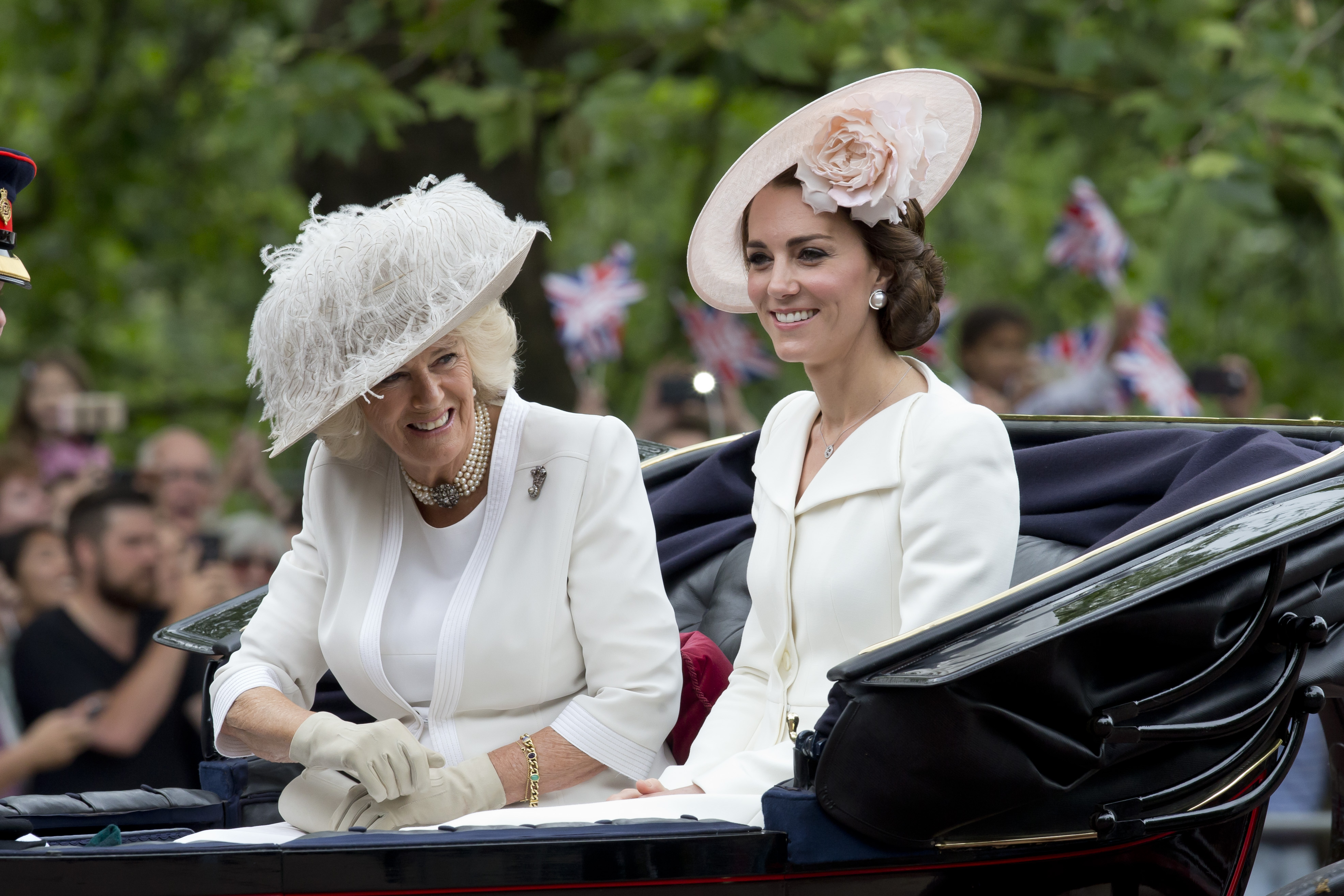 Camilla Parker y Kate Middleton